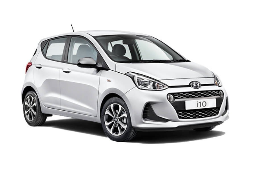 Hyundai i10 for hire from Global Go!