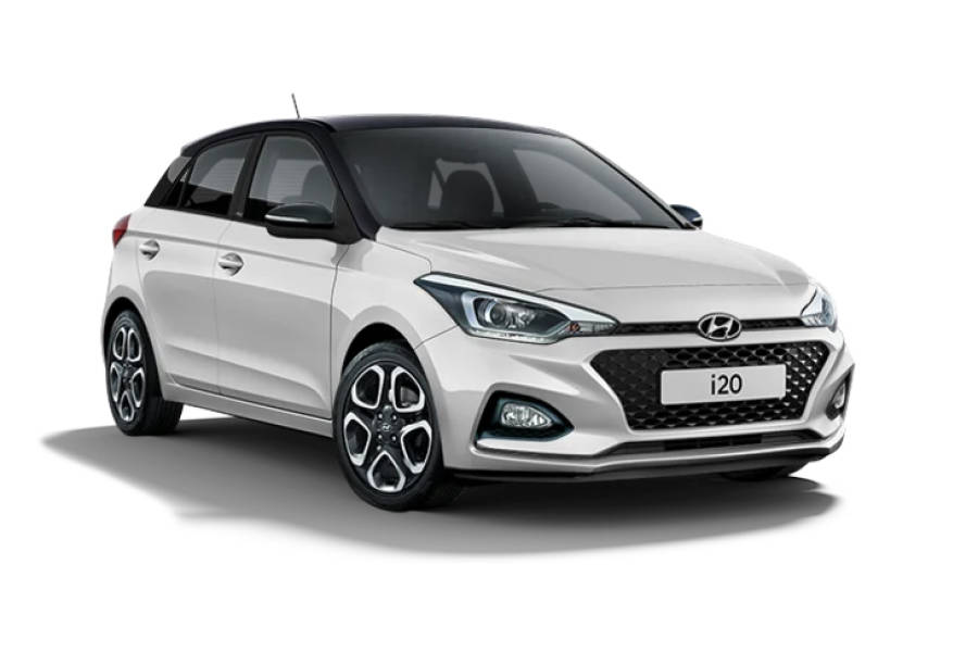 Hyundai i20 for hire from Global Go!