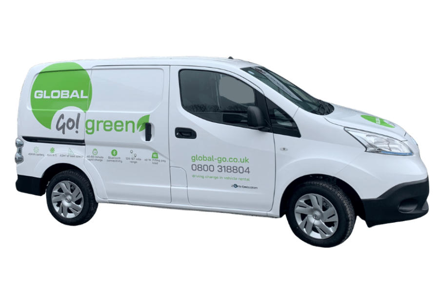 Nissan E NV200 from Global Go!