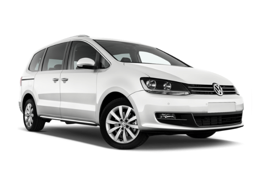 VW Sharan for hire from Global Go!